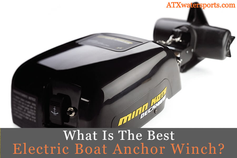 best electric boat anchor winch