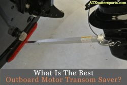 outboard motor transom saver